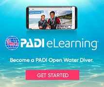 PADI eLearning with Aqua Marine St. Thomas for Scuba Diving