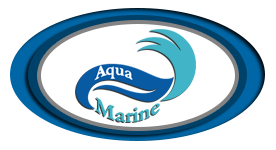 AquaMarine Dive and Snorkel Shop Logo
